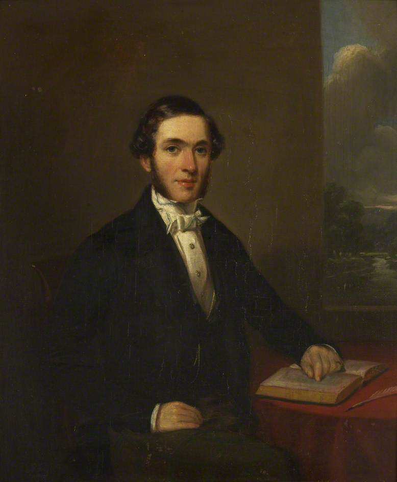 Order Paintings Reproductions | Handel Cossham, MP, 1848 by Henry Spurrier Parkman | WahooArt.com