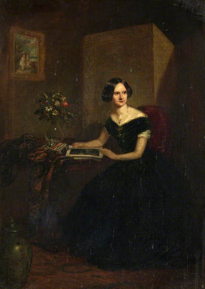 Portrait of an Unknown Lady, Oil On Canvas by Henry Spurrier Parkman