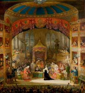 Henry Andrews - The Trial of Queen Katharine, 'Henry VIII', Act II, Scene 4