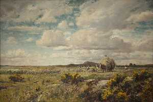 Thomas Huson - Haytime in Anglesey