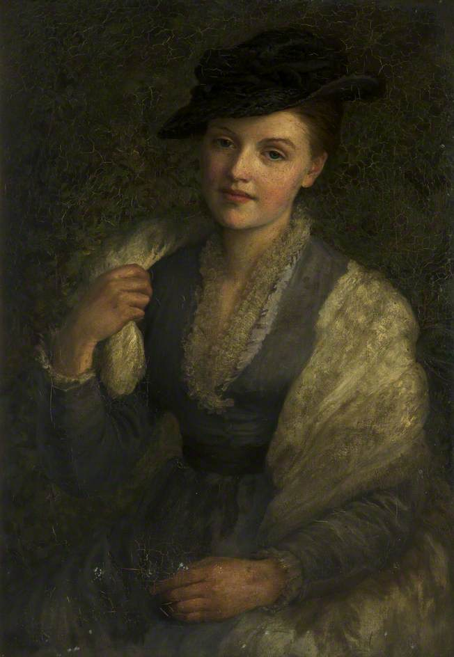 Dorothy, Oil On Canvas by Henry Measham
