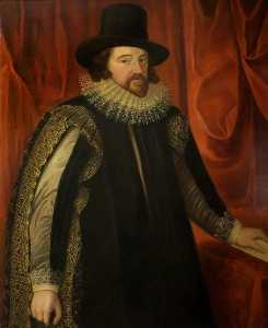 Alfred Edmund Dyer - Francis Bacon, 1st Viscount St Albans, Lord High Chancellor (1561–1626) (copy of Paulus van Somer I)