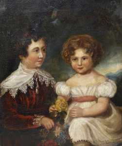 Henrietta Georgiana Maria Lascelles Iremonger Chatterton - Ernest Lane and His Sister