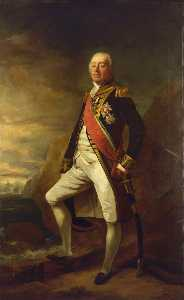 Edwin Williams - Vice Admiral James Saumarez (1757–1836) (after Thomas Phillips)
