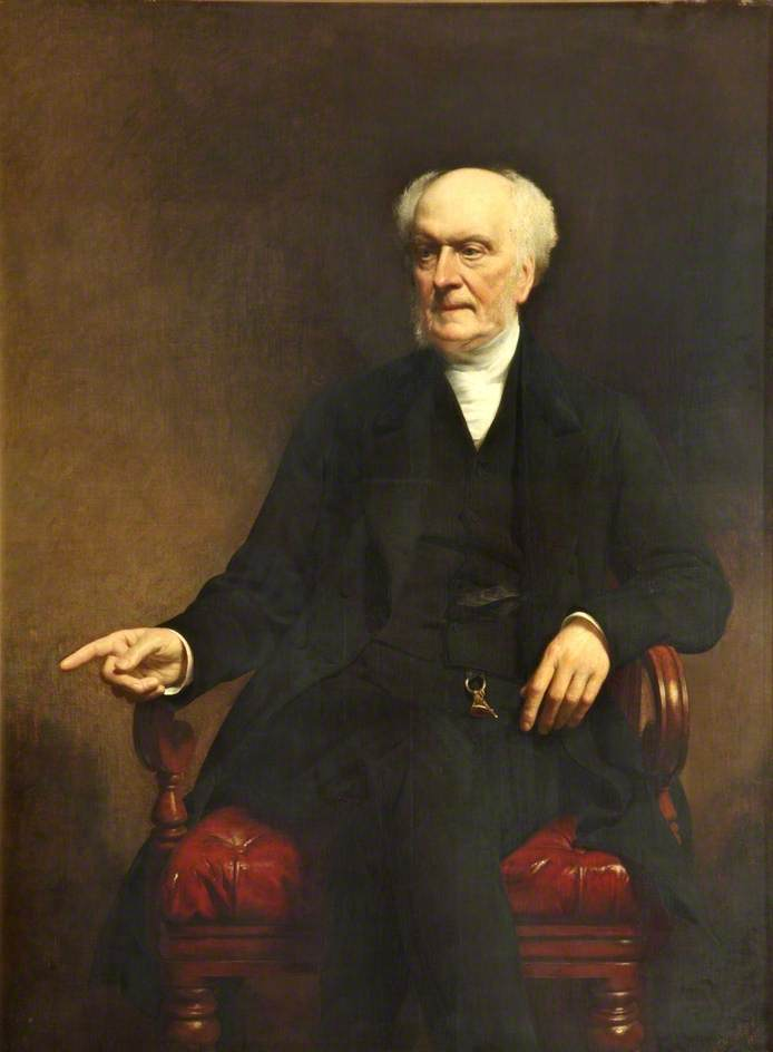 James Aikin (1792–1878), 1873 by John Ewart Robertson | Painting Copy | WahooArt.com
