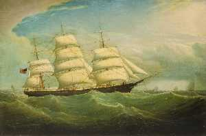 Isaac Joseph Witham - The Clipper 'William McGilvery'