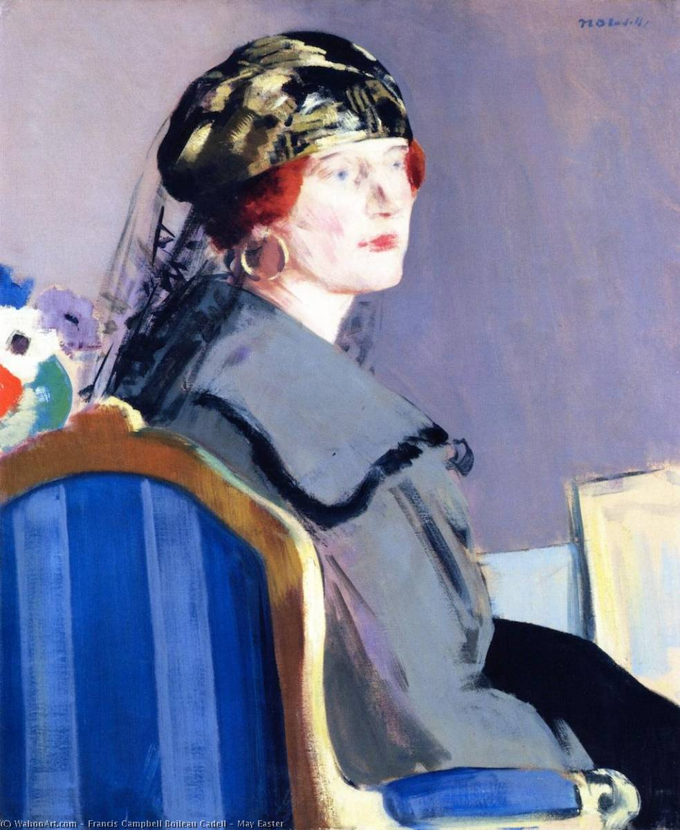 May Easter, 1922 by Francis Campbell Boileau Cadell (1883-1937) | Painting Copy | WahooArt.com