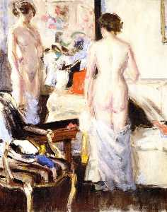 Francis Campbell Boileau Cadell - The Model