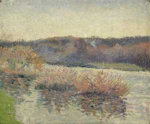 Félix Pissarro - The River