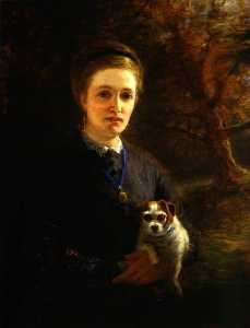 Joseph Farquharson - Mrs Farquharson of Finzean (also known as The artist's stepmother)