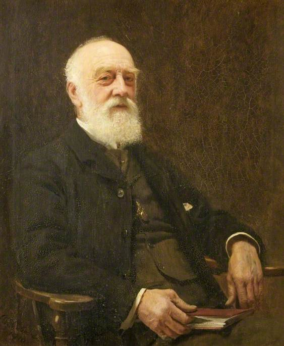 Dr E. T. Wilson (1832–1918), 1913 by Alford Usher Soord | Museum Quality Reproductions | WahooArt.com