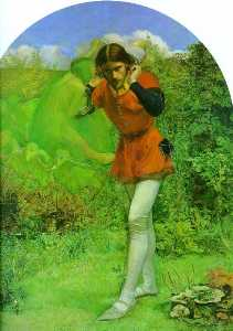 John Everett Millais - Ferdinand and Ariel