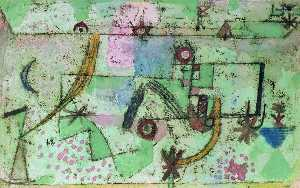 Paul Klee - Im Bachschen Stil (In the Style of Bach)
