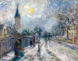 Camille Pissarro - All Saints' Church